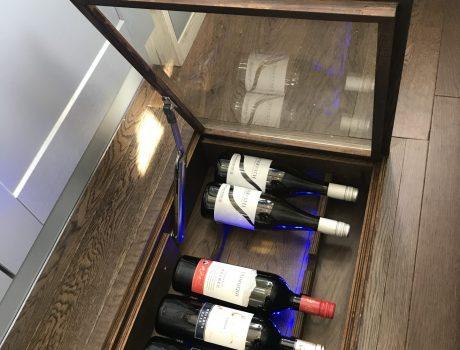 Illuminated Wine Cellar Option