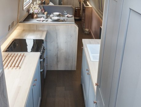 View of Galley from steps