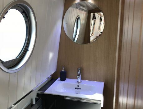 Sink unit, and Heated Mirror